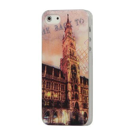 iPhone SE/5S/5 Münchner Rathaus Hart Plastik Case