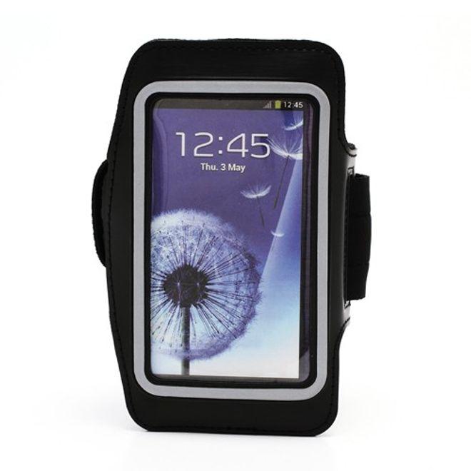 MU Classic Sport Armband Case fürs Samsung Galaxy S4 - schwarz