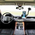 2 in 1 Autohalterung für Smartphones mit bis zu 10 cm Breite