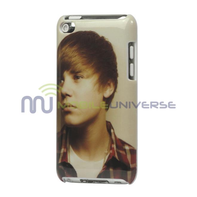 MU Style iPod Touch 4 Justin Bieber Hart Plastik Case