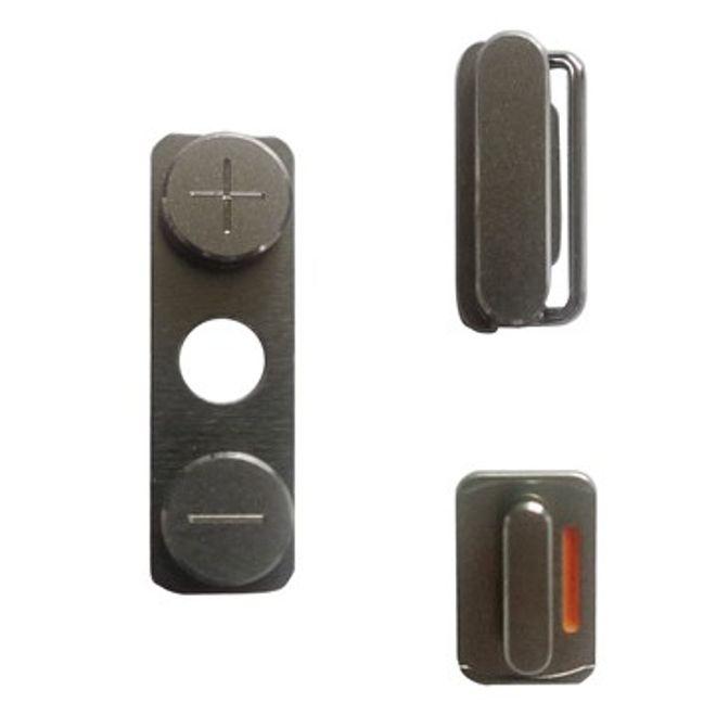 MU Classic Komplettes Set an Seitenbuttons für das iPhone 4/4S