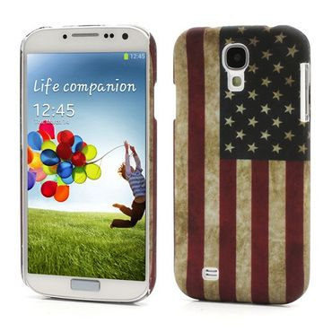 Samsung Galaxy S4 Amerika Nationalflagge retro Hart Plastik Case