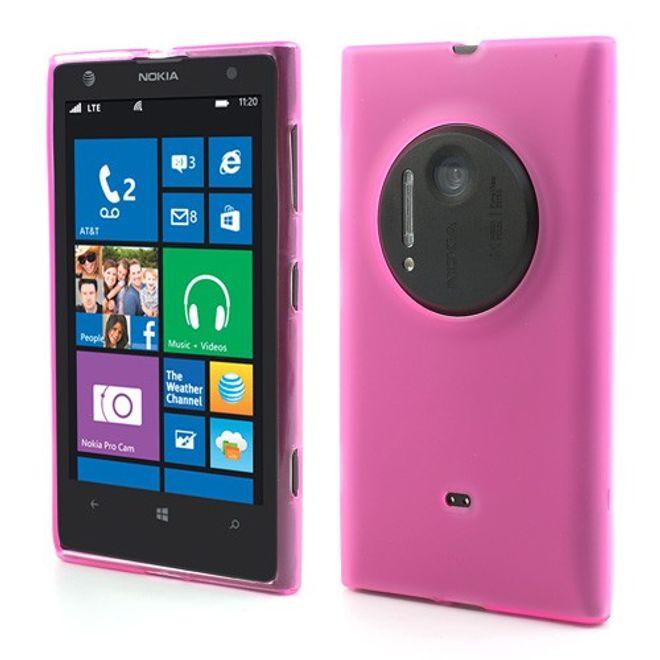 hans Nokia Lumia 1020 Elastisches Case - rosa