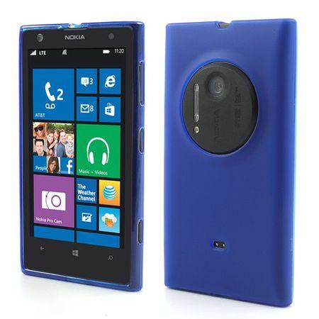 Nokia Lumia 1020 Elastisches Case - dunkelblau