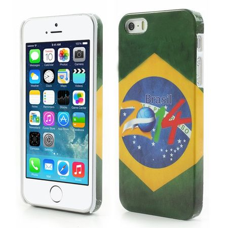 iPhone SE/5S/5 Brasilien WM 2014 Plastik Case
