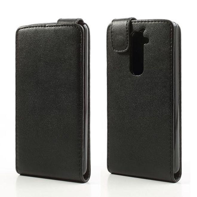 hans LG Optimus G2 Leder Flip Case - schwarz