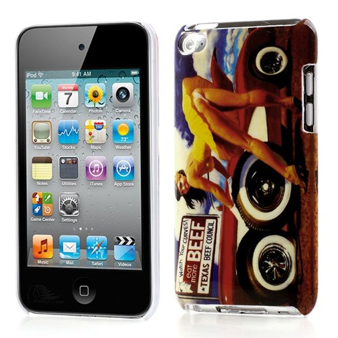 MU Style iPod Touch 4 Sexy Auto Model Plastik Case