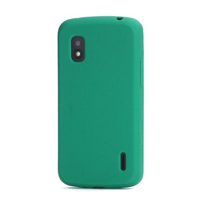 LG Google Nexus 4 Flexibles Silikon Case - grün