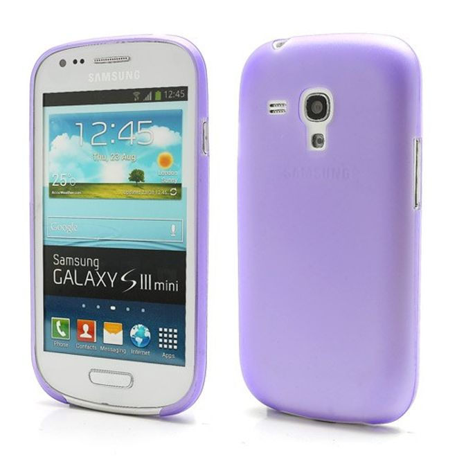 hans Samsung Galaxy S3 Mini ultradünnes Plastik Case - purpur
