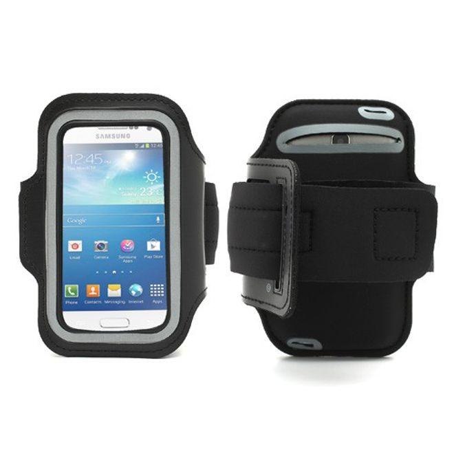 MU Classic Sport Armband Case fürs Samsung Galaxy S4 Mini - schwarz