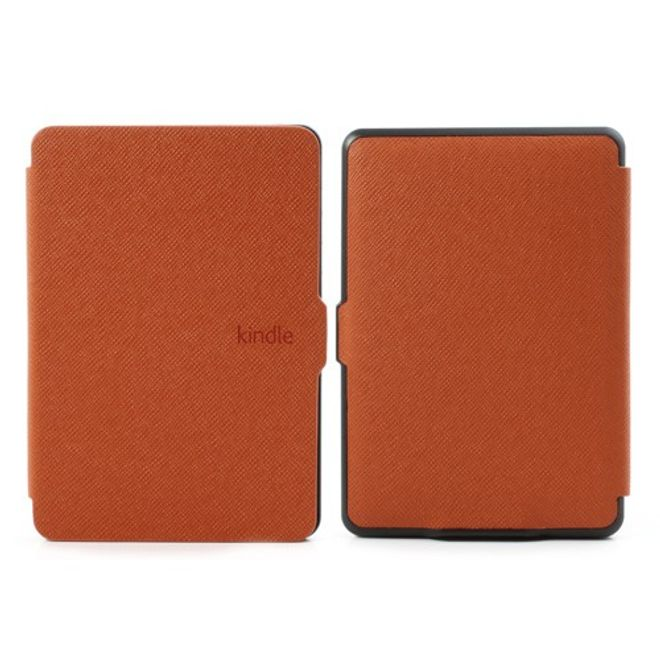 Amazon Kindle Paperwhite Leder Case mit texturierter Oberfläche - orange