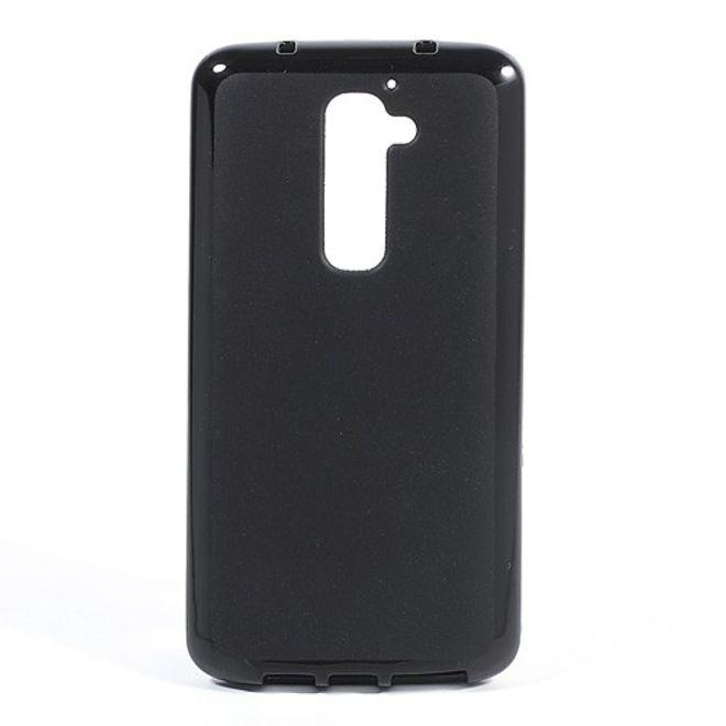 LG Optimus G2 Elastisches Plastik Case - schwarz