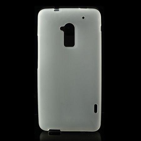 HTC One Max Elastisches Plastik Case - weiss