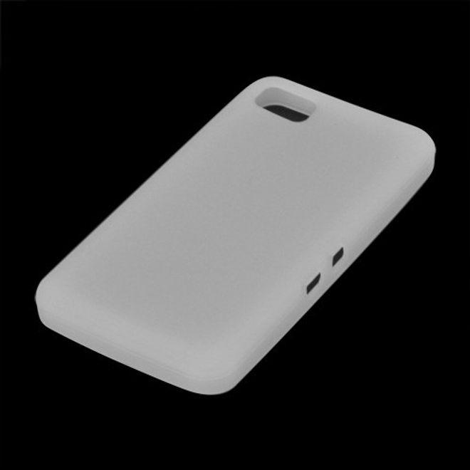 BlackBerry Z10 Silikon Case - weiss