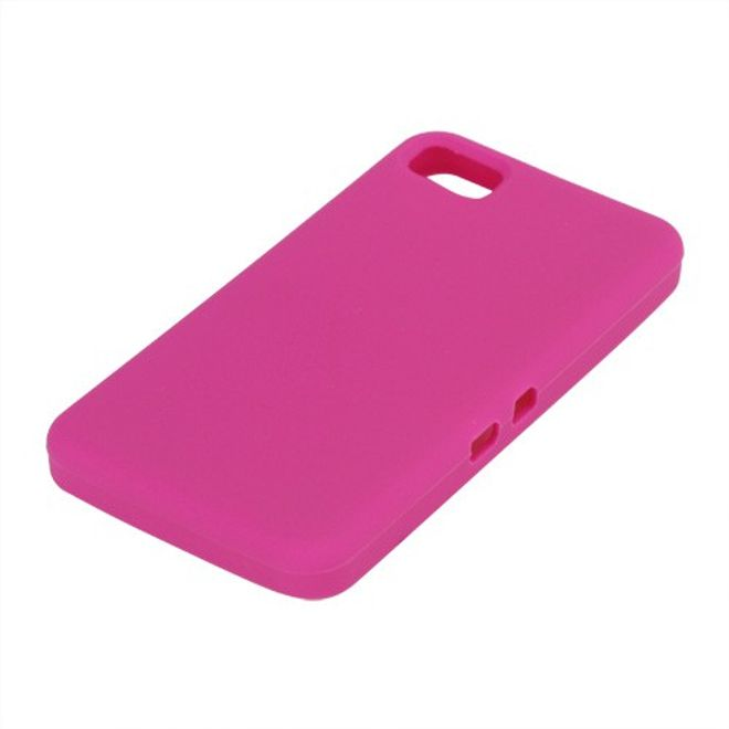 BlackBerry Z10 Silikon Case - rosa