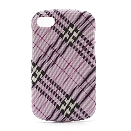 BlackBerry Q10 Gummiertes Hart Plastik Case - purpur
