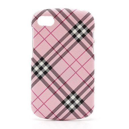 BlackBerry Q10 Gummiertes Hart Plastik Case - pink