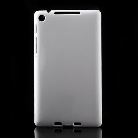 Asus Google Nexus 7 2nd Gen Klares Hart Plastik Case - weiss