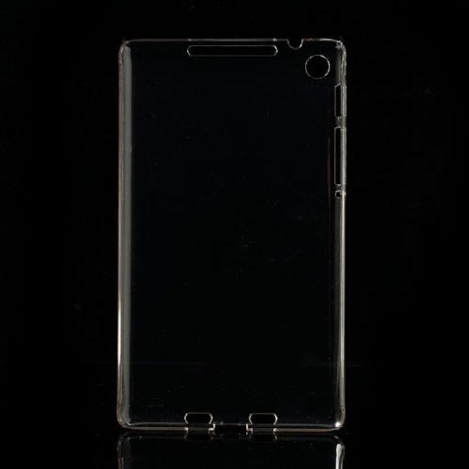 Asus Google Nexus 7 2nd Gen Klares Hart Plastik Case - transparent