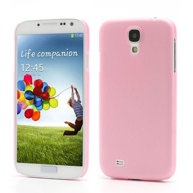 MU Classic Samsung Galaxy S4 Ultradünnes Hart Plastik Case - pink