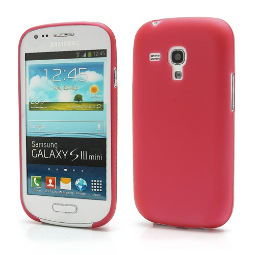 Samsung Galaxy S3 Mini ultradünnes Plastik Case - rot