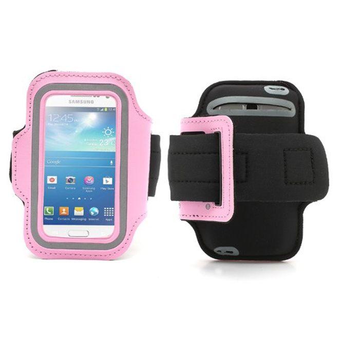 Sport Armband Case fürs Samsung Galaxy S4 Mini - pink
