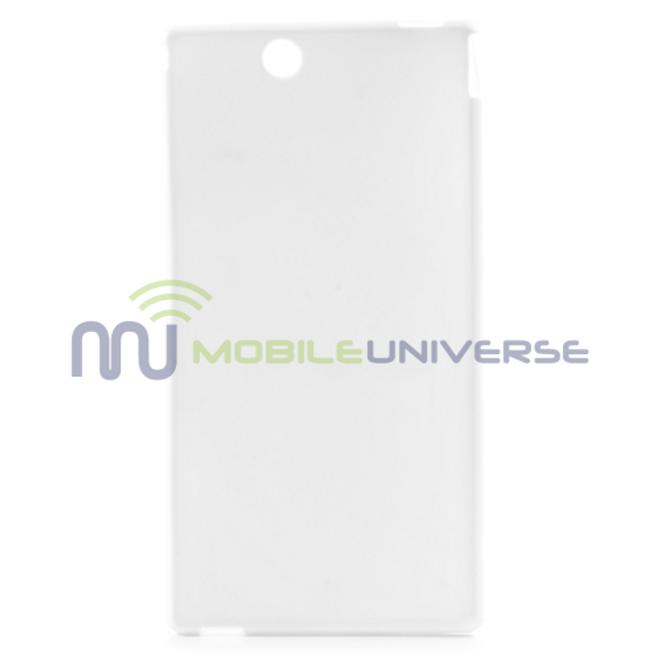 Sony Xperia Z Ultra Elastisches Plastik Case - weiss