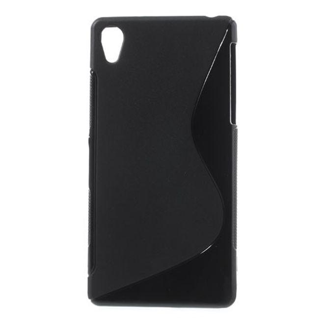 MU Classic Sony Xperia Z2 Elastisches Plastik Case S-Curve - schwarz