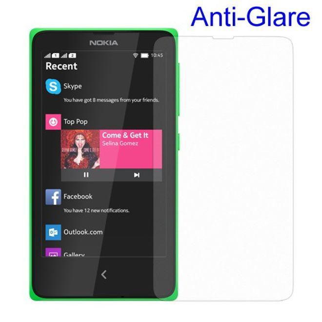 Nokia X Schutzfolie mit Blendschutz - matt
