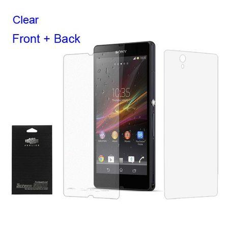 Sony Xperia Z Schutzfolie für Vorder- und Rückseite - klar