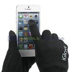 Touchscreenfähige Handschuhe iGlove - schwarz