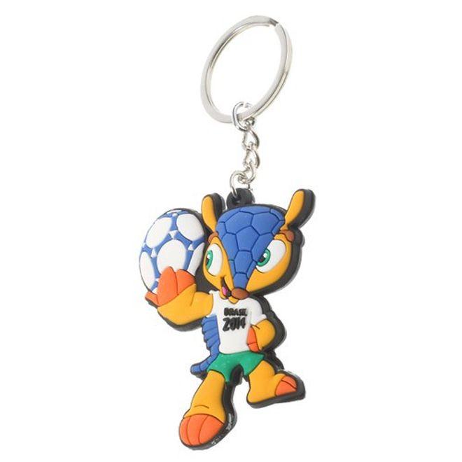 WM 2014 Brasilien Schlüsselanhänger Maskottchen Armadillo