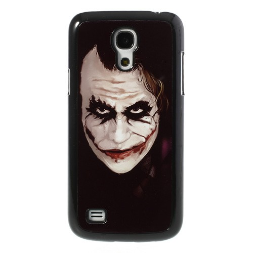 Samsung Galaxy S4 Mini Hart Plastik Case mit Joker Batman Figur