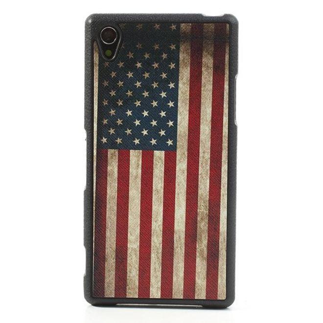 Sony Xperia Z1 Retro USA Nationalflagge