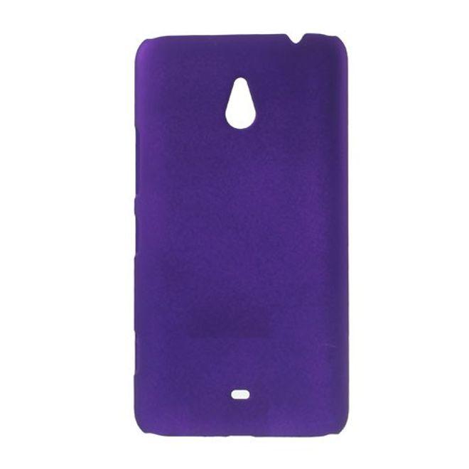 Nokia Lumia 1320 Gummiertes Hart Plastik Case - purpur