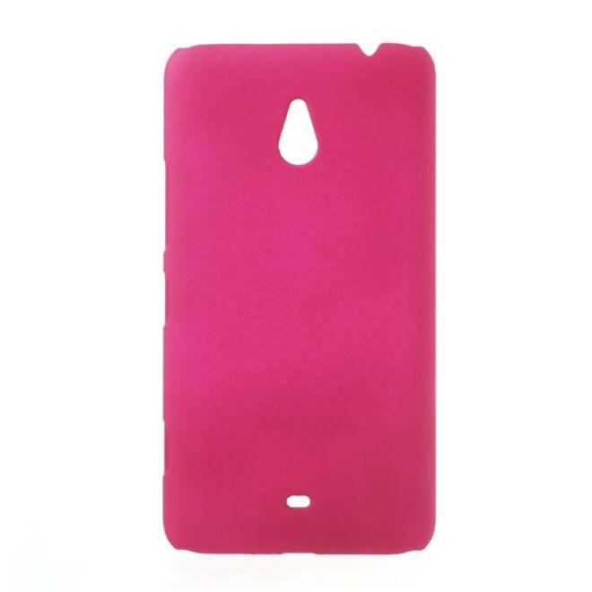 Nokia Lumia 1320 Gummiertes Hart Plastik Case - rosa