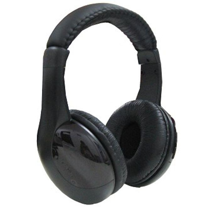 Wireless On-Ear Kopfhörer - schwarz
