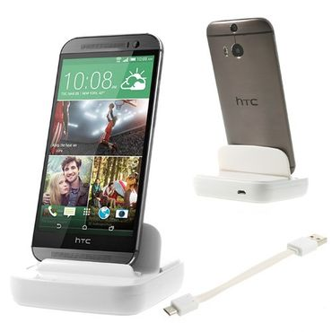 HTC One (M8) Dockingstation - weiss