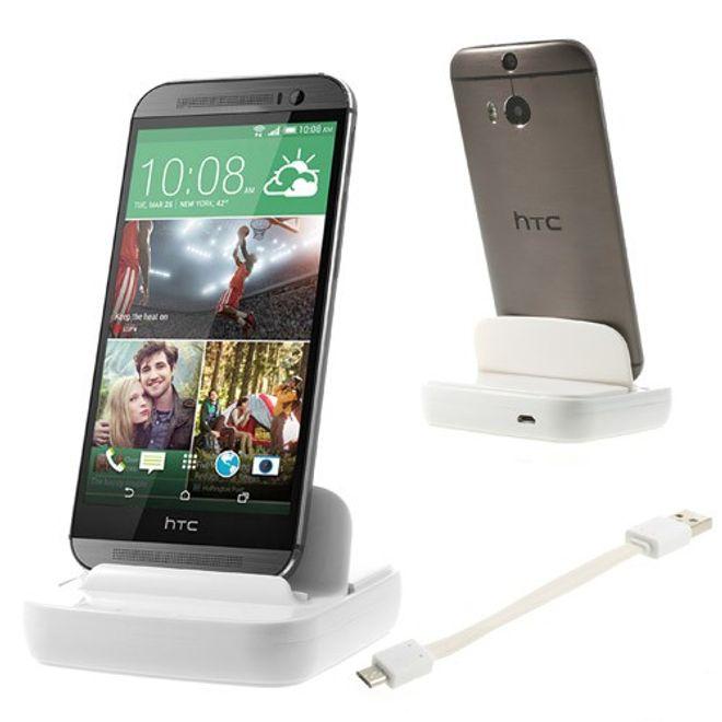 HTC One (M8) Dockingstation - weiss