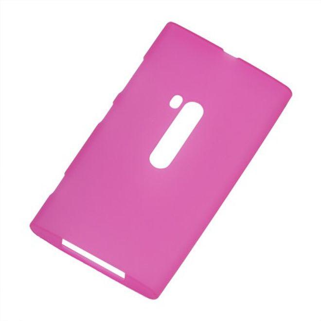 Nokia Lumia 920 Elastisches, mattes Plastik Case - rosa
