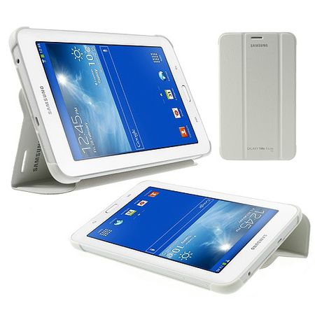 Samsung Galaxy Tab 3 7.0 Lite Faltbares Leder Cover - weiss