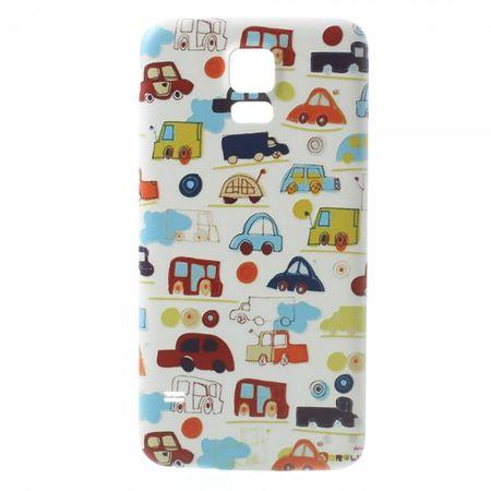 Samsung Galaxy S5 Backcover Kleine Cartoon Autos