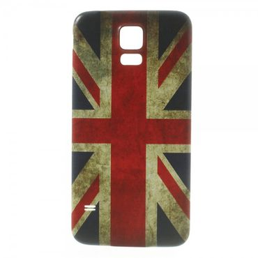 Samsung Galaxy S5 Backcover Union Jack retro-style