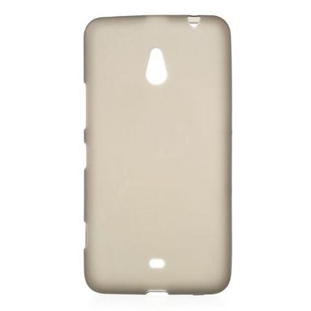 Nokia Lumia 1320 Elastisches, mattes Plastik Case - grau