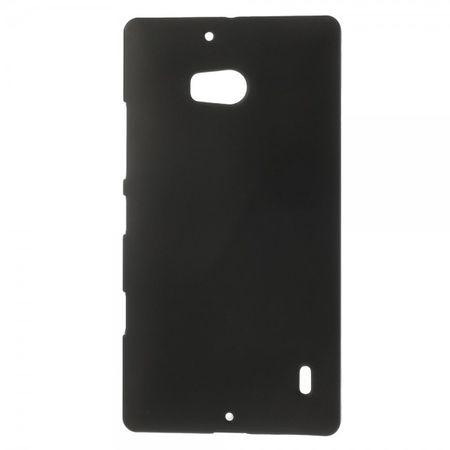 Nokia Lumia 930 Gummiertes Hart Plastik Case - schwarz