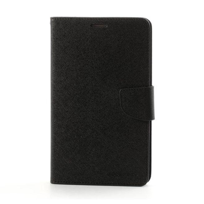 Goospery Goospery - Samsung Galaxy Tab 3 7.0 Hülle - Tablet Bookcover - Fancy Diary Series - schwarz