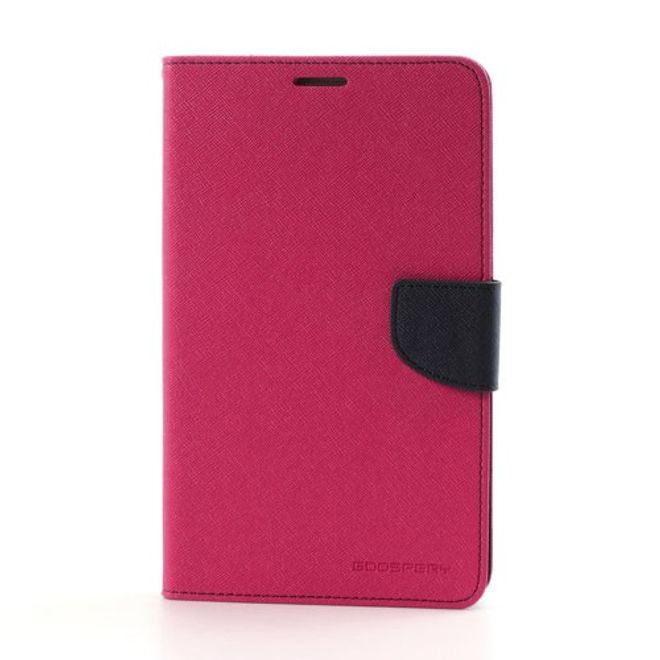 Goospery Mercury Goospery - Samsung Galaxy Tab 3 7.0 Hülle - Tablet Bookcover - Fancy Diary Series - pink/navy