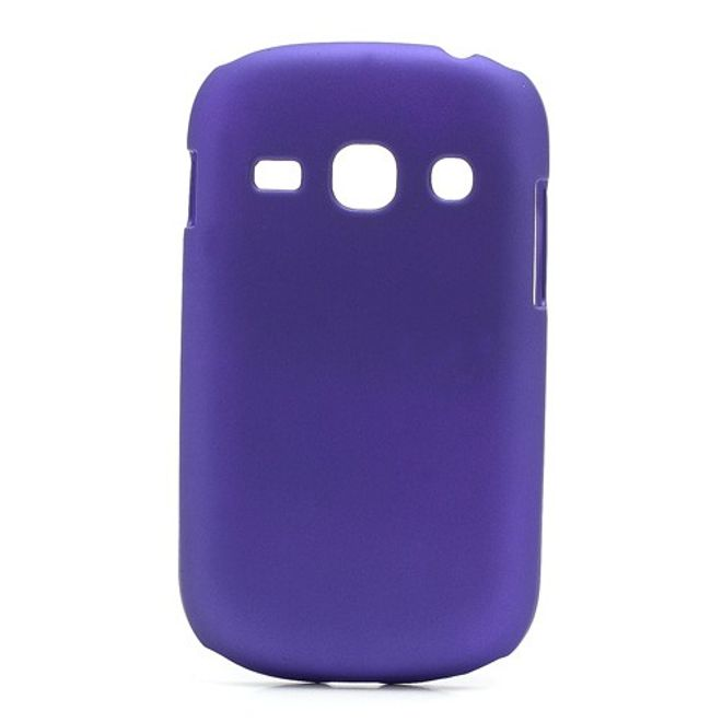 MU Classic Samsung Galaxy Frame Hart Plastik Case - purpur