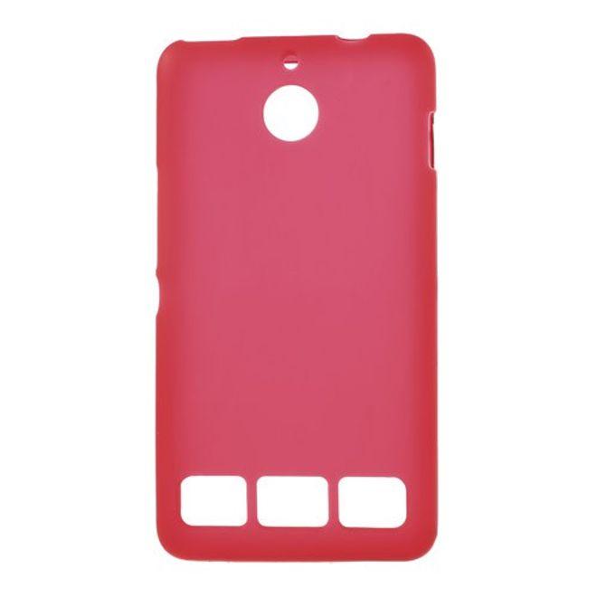 MU Classic Sony Xperia E1 Elastisches, mattes Plastik Case - rot