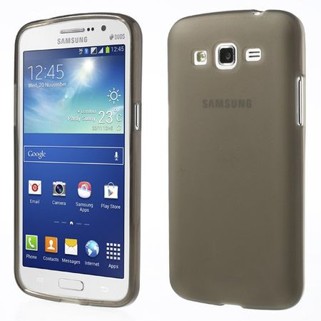 Samsung Galaxy Grand 2 Elastisches Plastik Case - grau